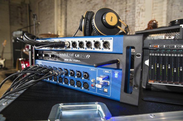 MIxere Digitale de Live - Soundcraft Ui24R