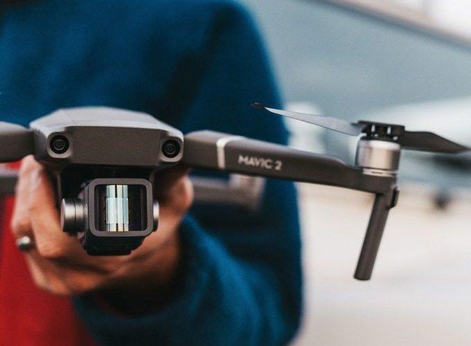 Filmari cu Drona - DJI MAVIC